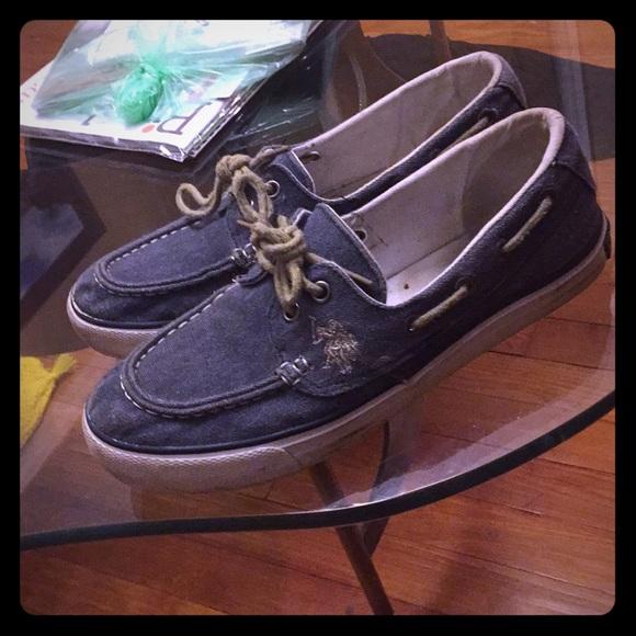 Polo Assn Denim Boat Shoes | Poshmark